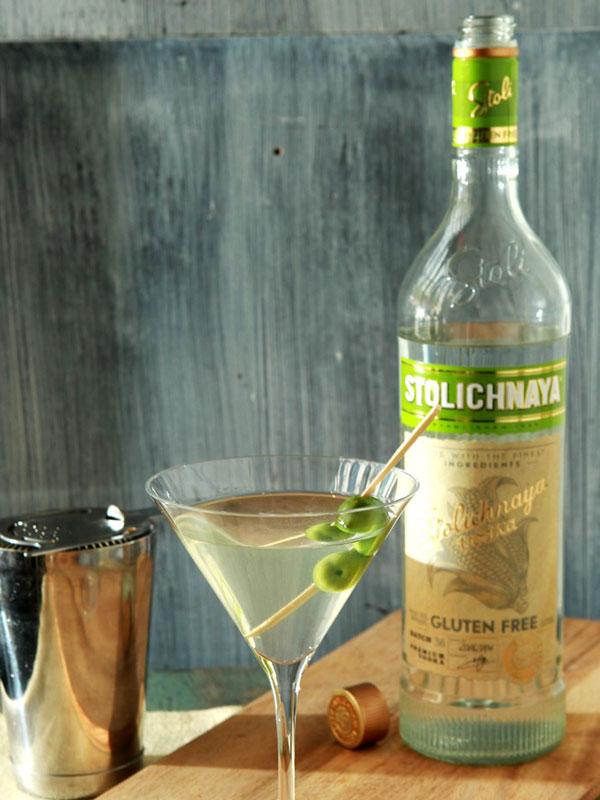 The Against The Grain Martini