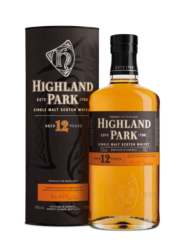 Highland Park Malt Whisky 12 Y.O.