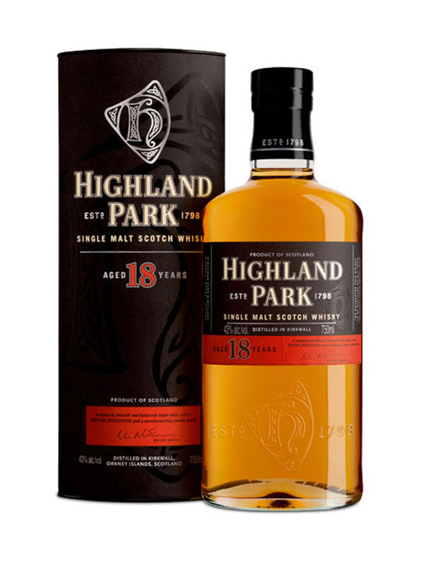 Highland Park Malt Whisky 18 Y.O.