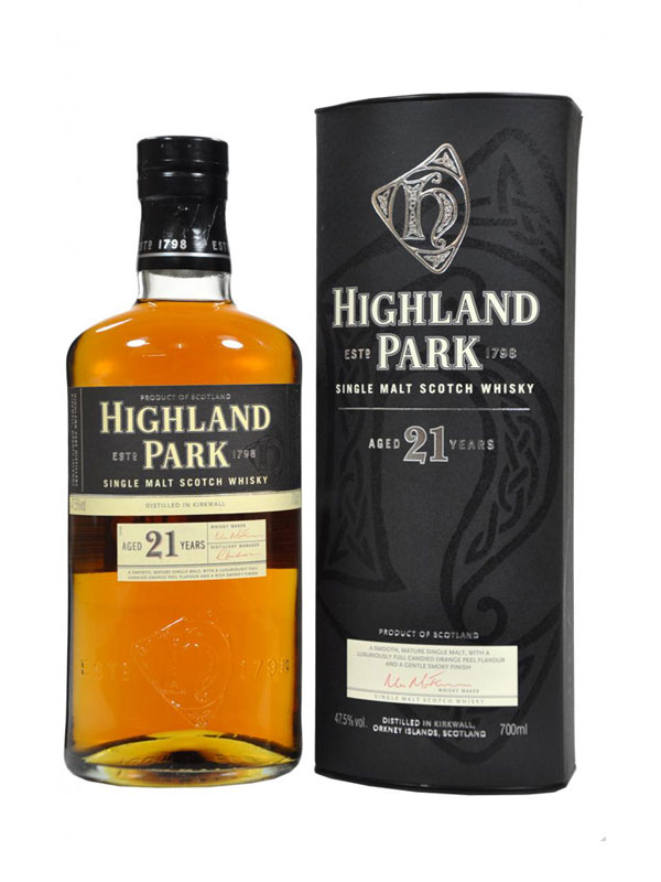 Highland Park Malt Whisky 21 Y.O.