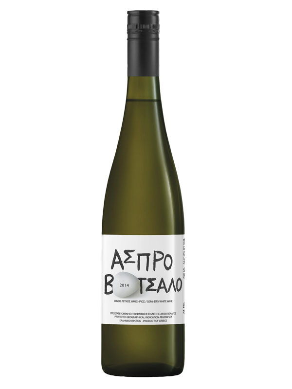 Aspro Votsalo, Semi Dry, 100% Muscat A petits Grains